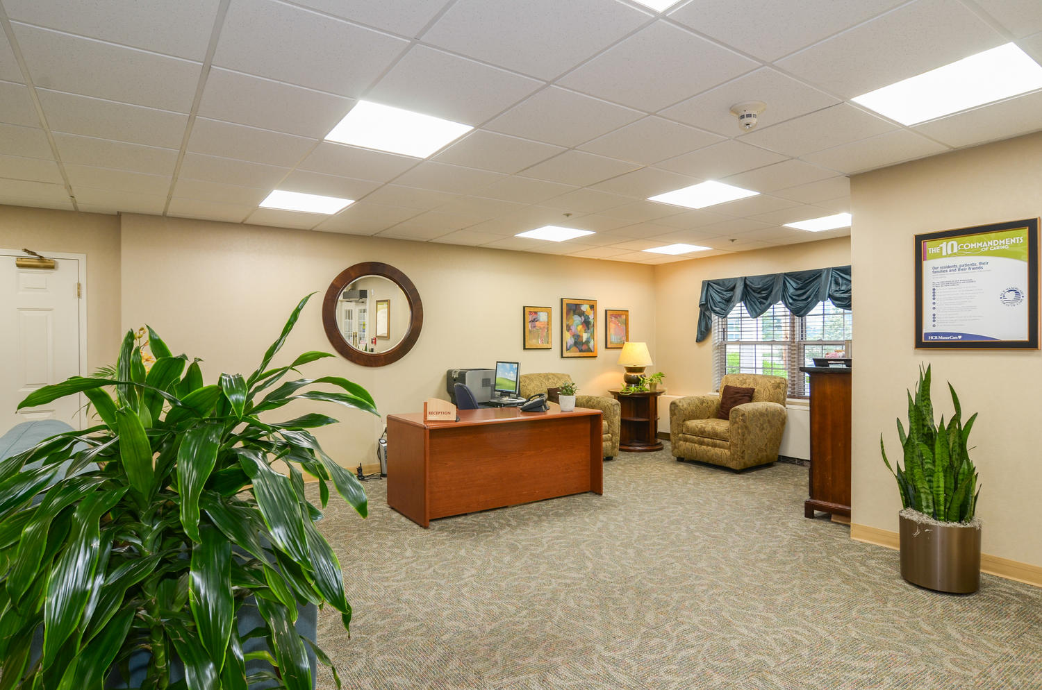 Manorcare At Arlington Heights Large 002 Lobby 1500X994 72Dpi