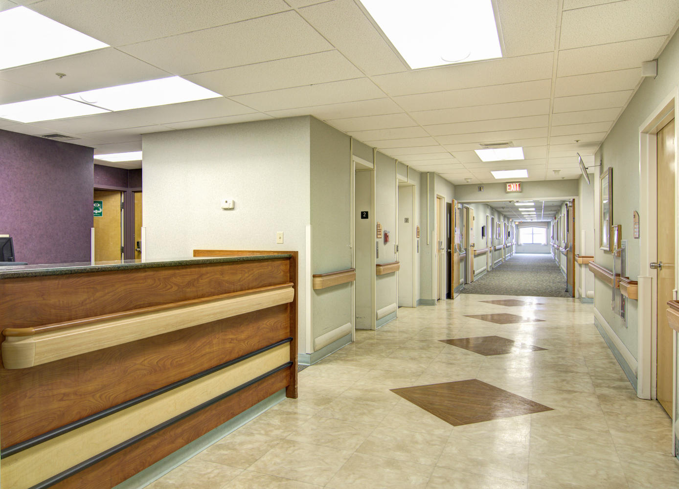 Manorcare Health Services Large 001 Hallway And Nurses Station 1388X1000 72Dpi