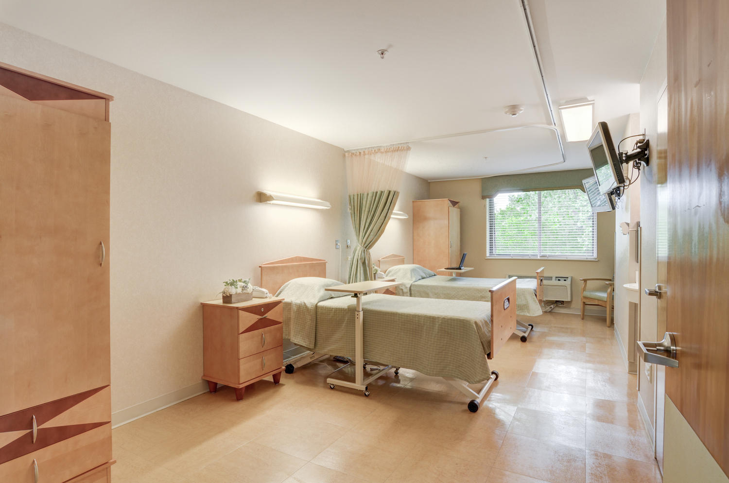 Manorcare Health Large 020 Semi Private Patient Room 1500X994 72Dpi